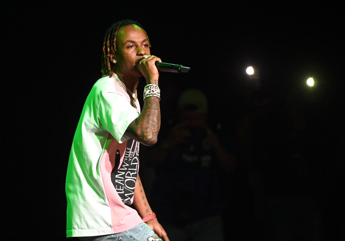 Rich the Kid performs onstage during 'The World is Yours Tour 2' at The Wiltern on June 10, 2019 in Los Angeles, California