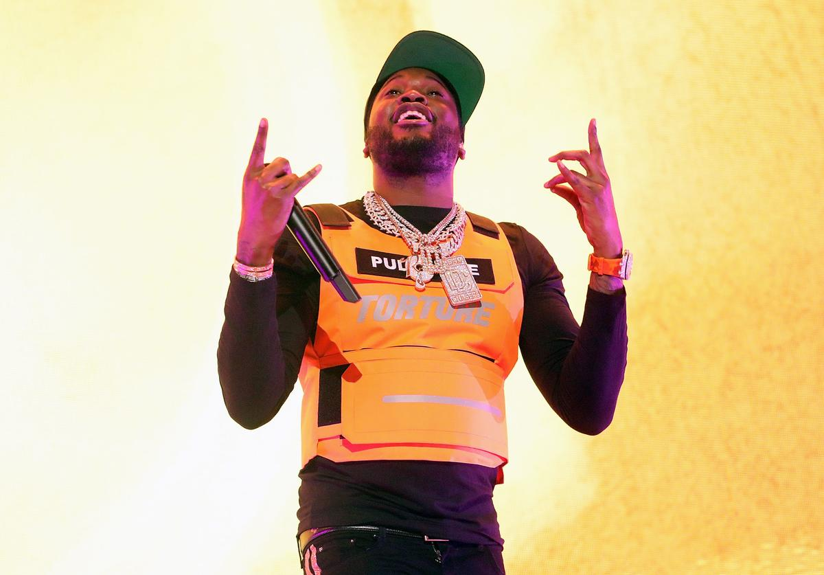 Meek Mill performs at Hammerstein Ballroom on March 12, 2019 in New York City