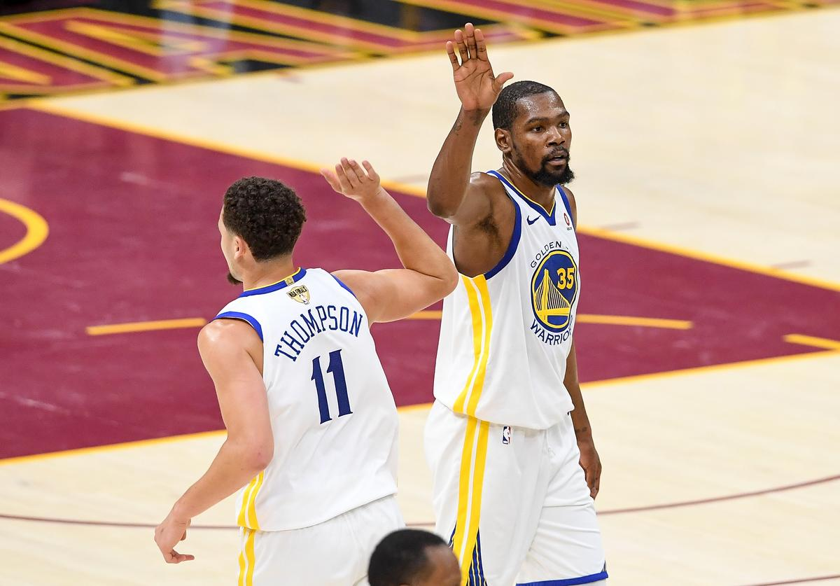 Klay Thompson & Kevin Durant