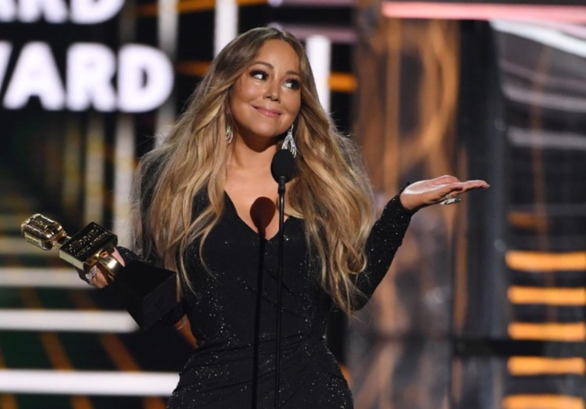 Mariah Carey accepts the Icon Award during the 2019 Billboard Music Awards at MGM Grand Garden Arena on May 1, 2019 in Las Vegas, Nevada.