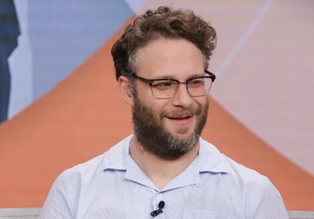 "Seth Rogen visits Univision's ""Despierta America"" to promote the film ""Long Shot"" on May 3, 2019 in Miami, Florida"