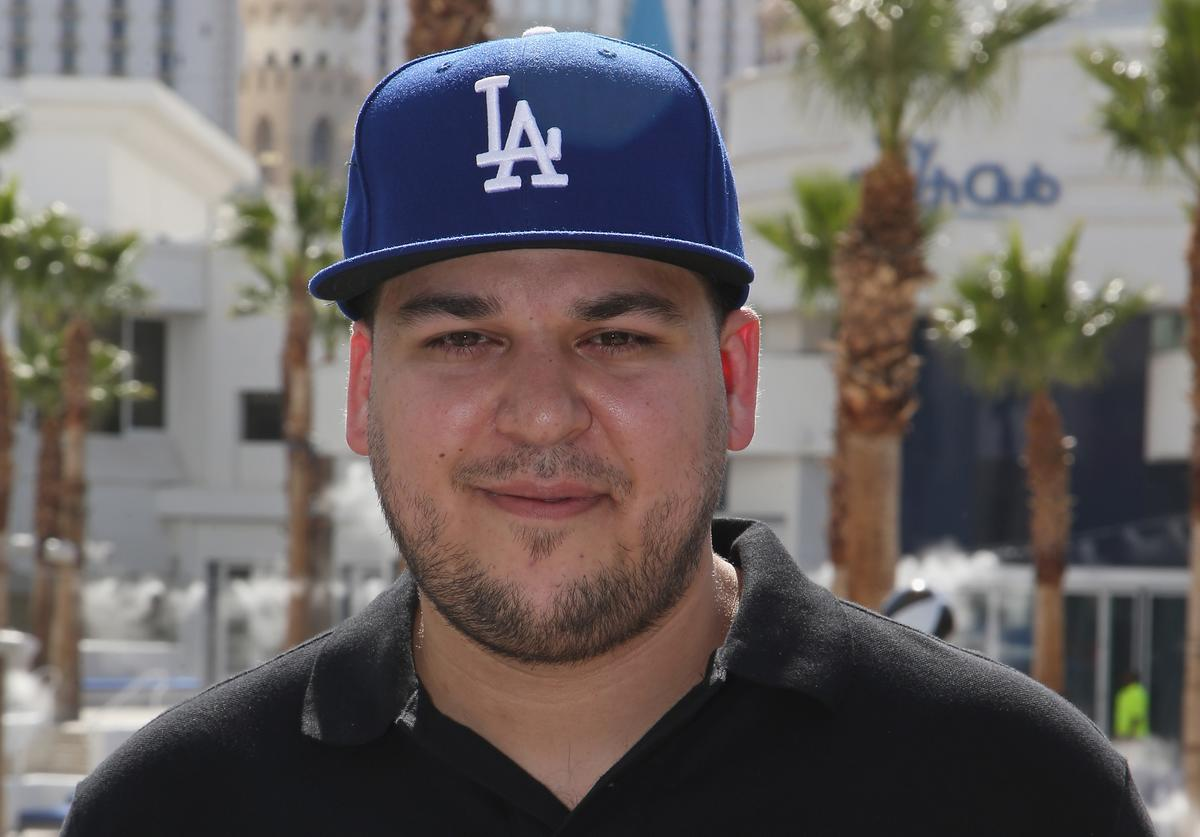 Television personality Rob Kardashian attends the Sky Beach Club at the Tropicana Las Vegas on May 28, 2016 in Las Vegas, Nevada.