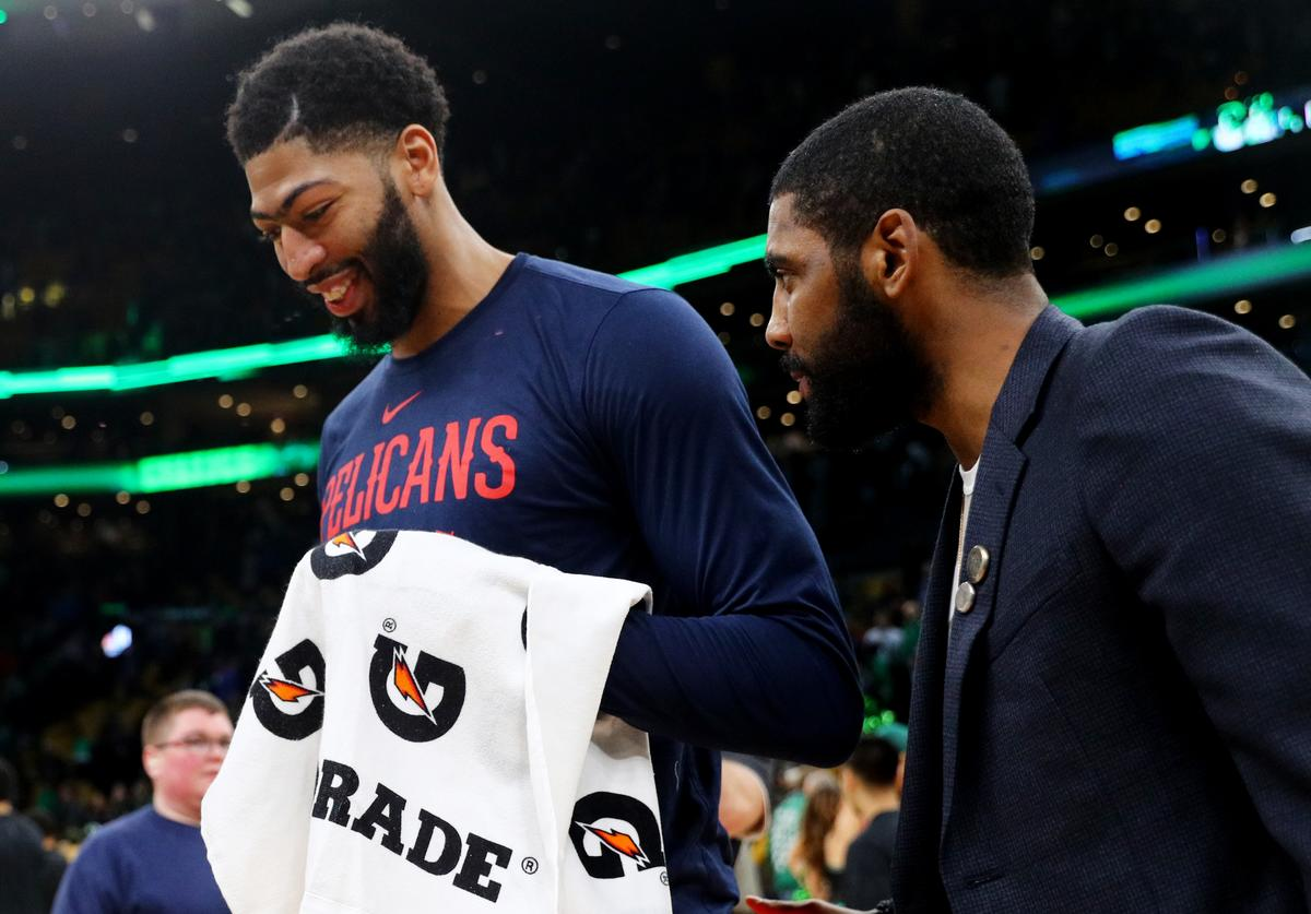Anthony Davis & Kyrie Irving