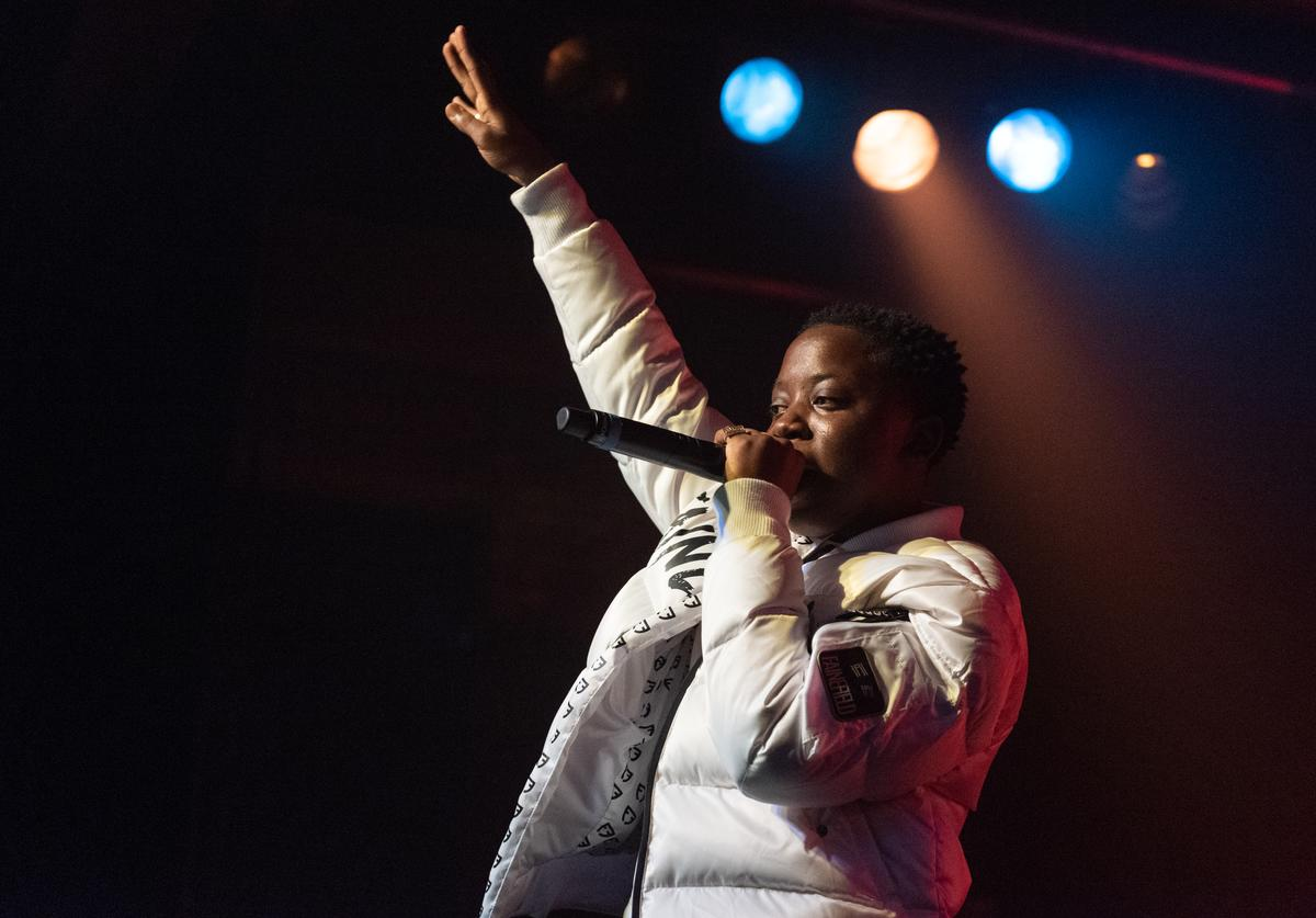 C Glizzy performs live on stage during the Northsbest Festival at the Showbox SoDo on April 27, 2019 in Seattle, Washington