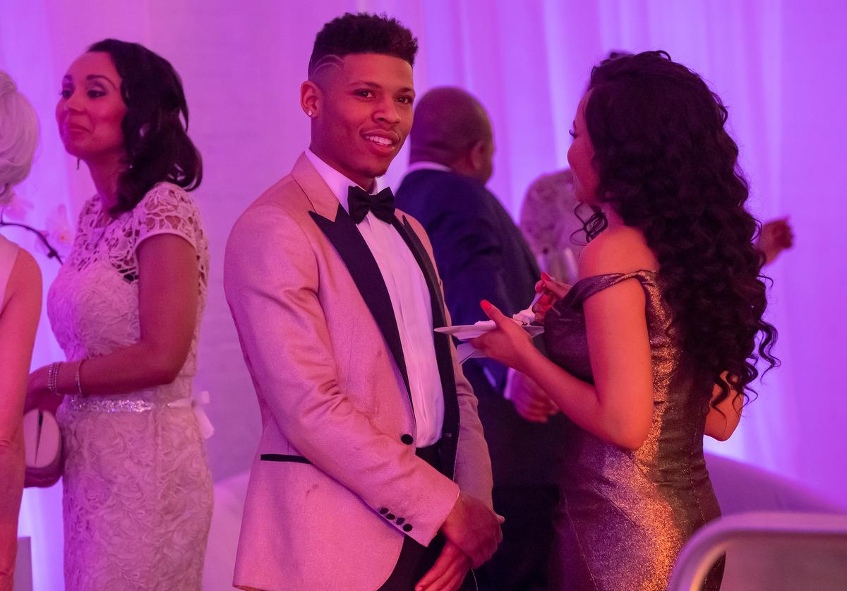 """Bryshere Y. Gray and Rhyon Nicole Brown in the """"Never Doubt I Love"""" episode of EMPIRE"""