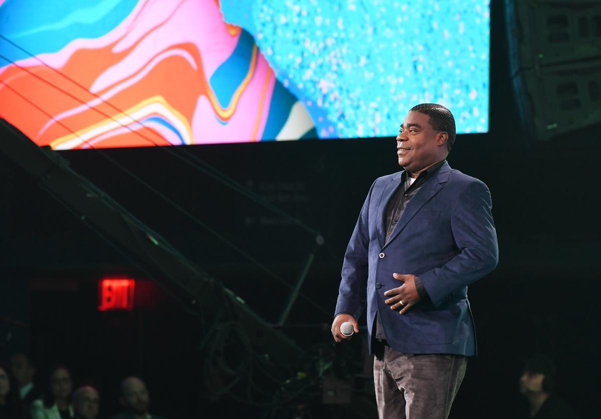 Tracy Morgan of TBS's The Last O.G speaks onstage during the WarnerMedia