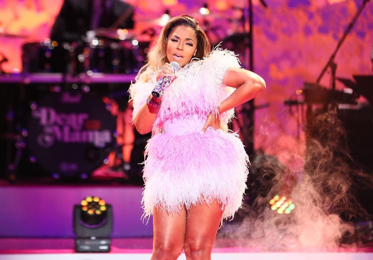 "Ashanti performs during VH1's Annual ""Dear Mama: A Love Letter To Mom"" at The Theatre"