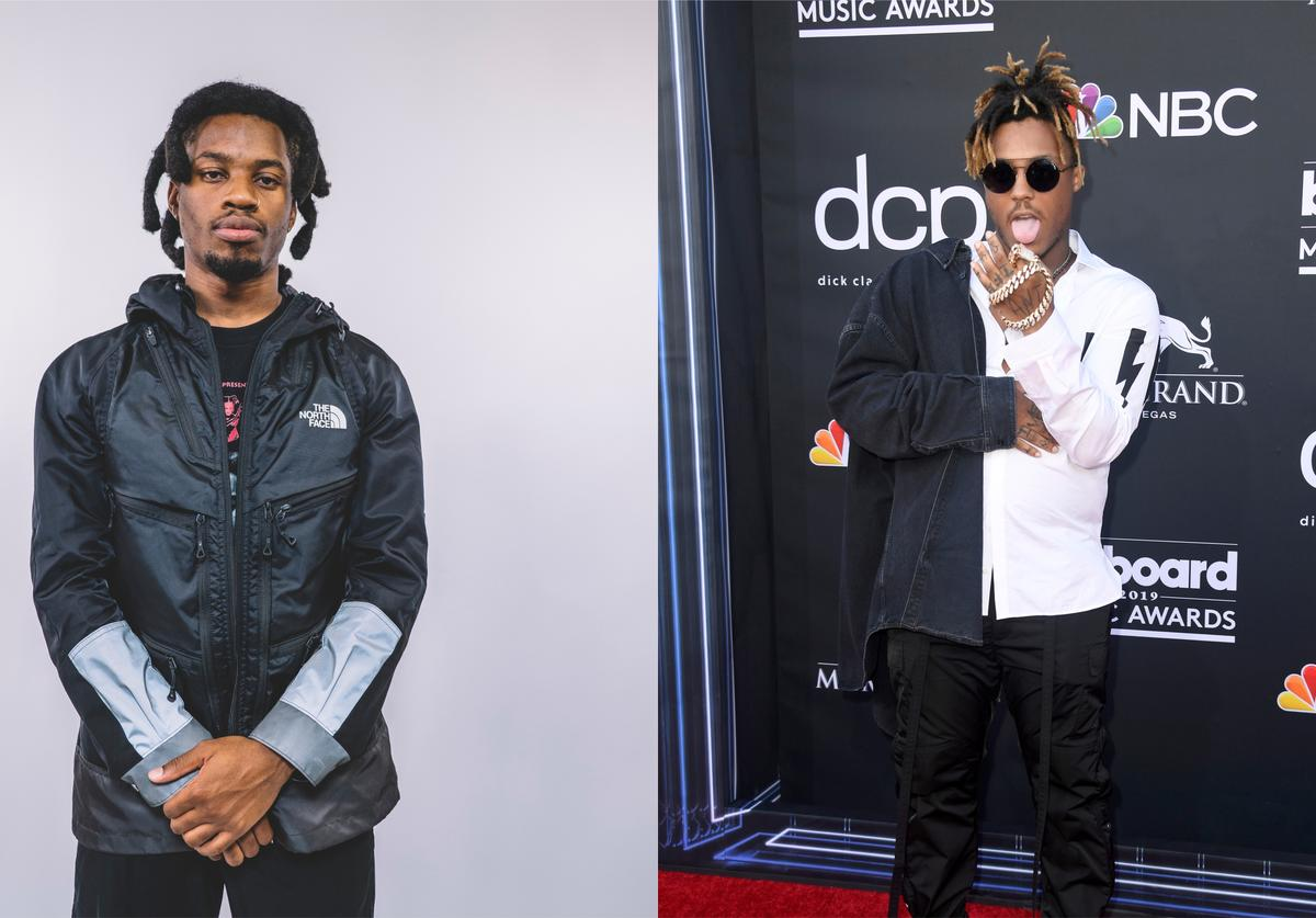 Denzel Curry & Juice WRLD split screen