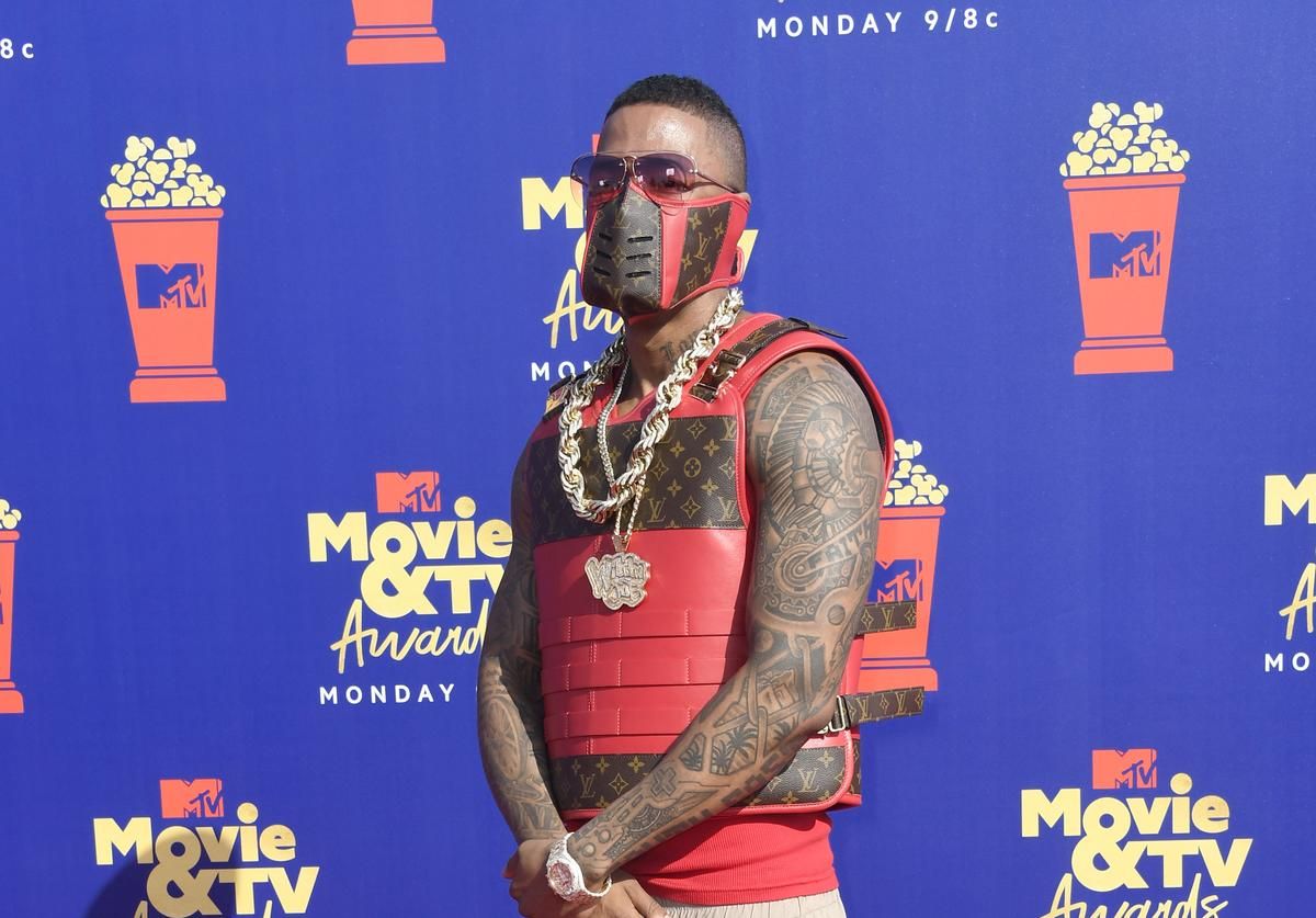 Nick Cannon attends the 2019 MTV Movie and TV Awards at Barker Hangar on June 15, 2019 in Santa Monica, California
