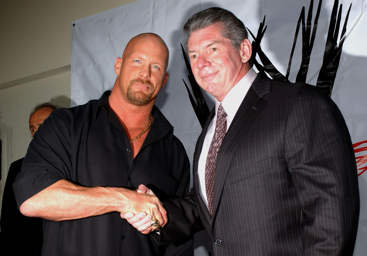 Stone Cold Steve Austin and Vince McMahon