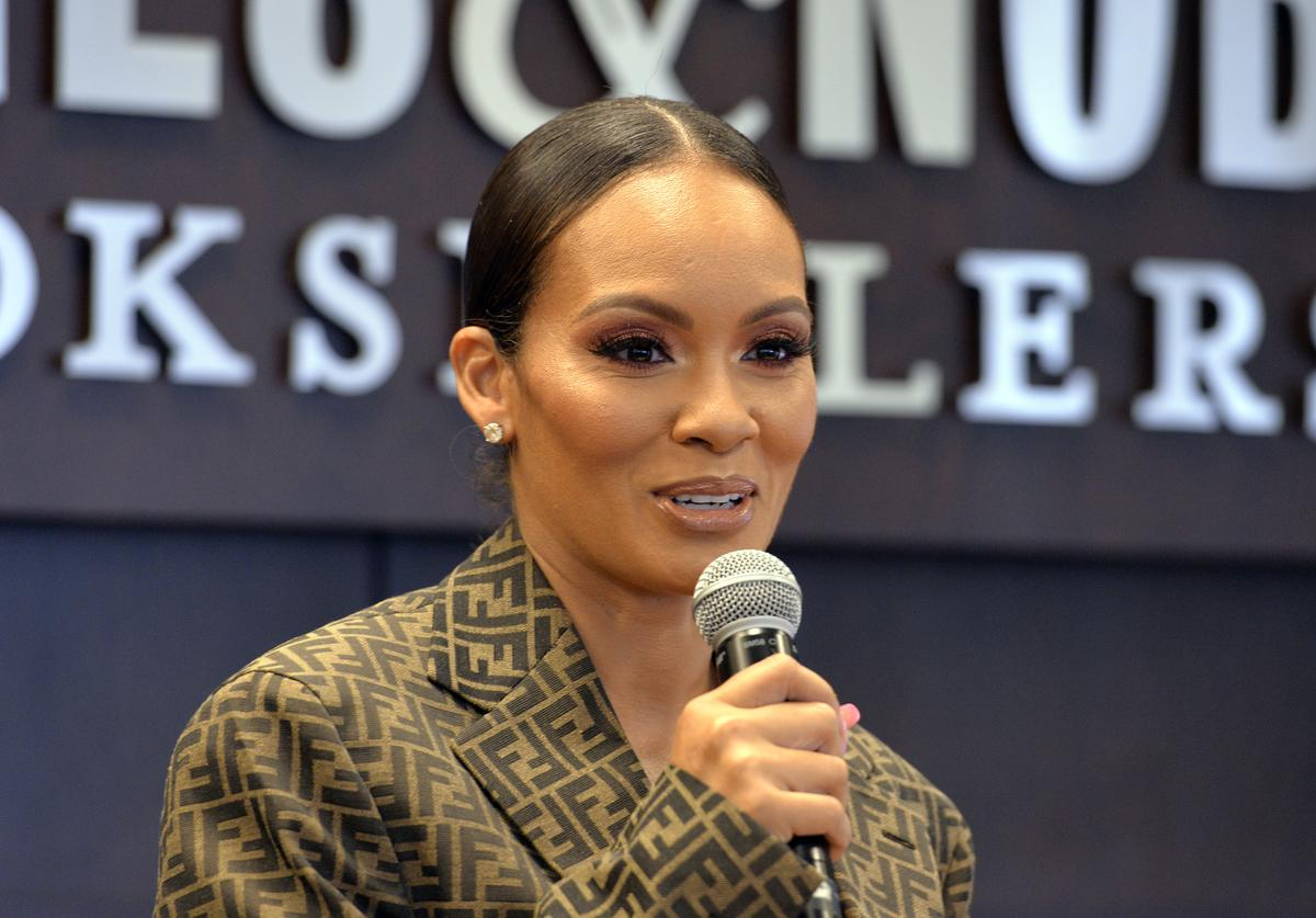 "Author Evelyn Lozada attends a Q&A and signing event for her new book ""The Perfect Date"" at Barnes & Noble at The Grove on June 15, 2019 in Los Angeles, California."