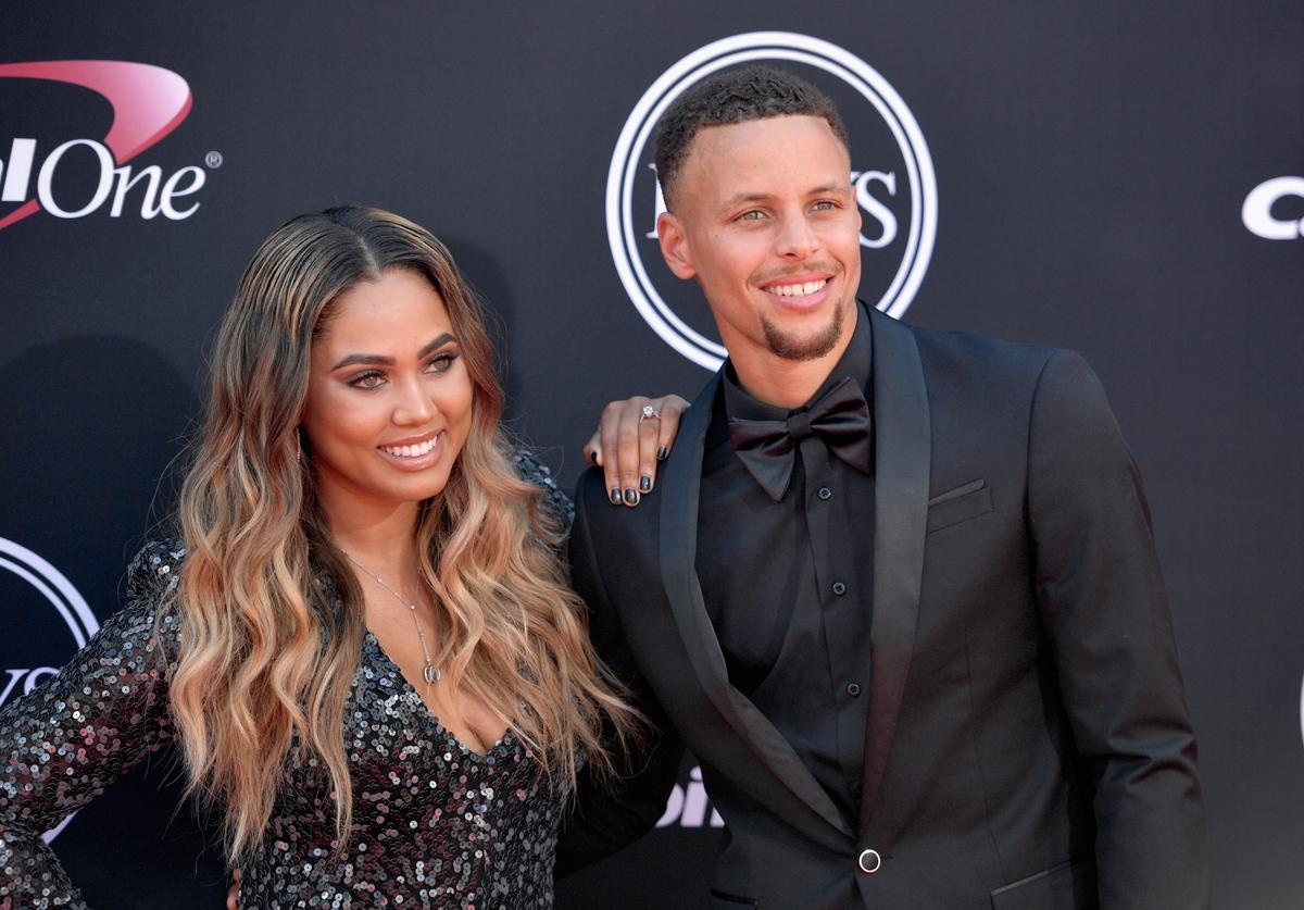 Ayesha Curry, Steph Curry