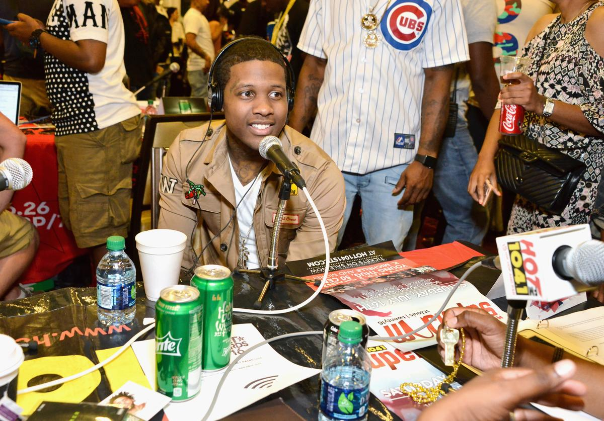 Lil Durk attends the radio broadcast center during the 2016 BET Experience at the JW Marriott Los Angeles L.A. Live on June 24, 2016 in Los Angeles, California