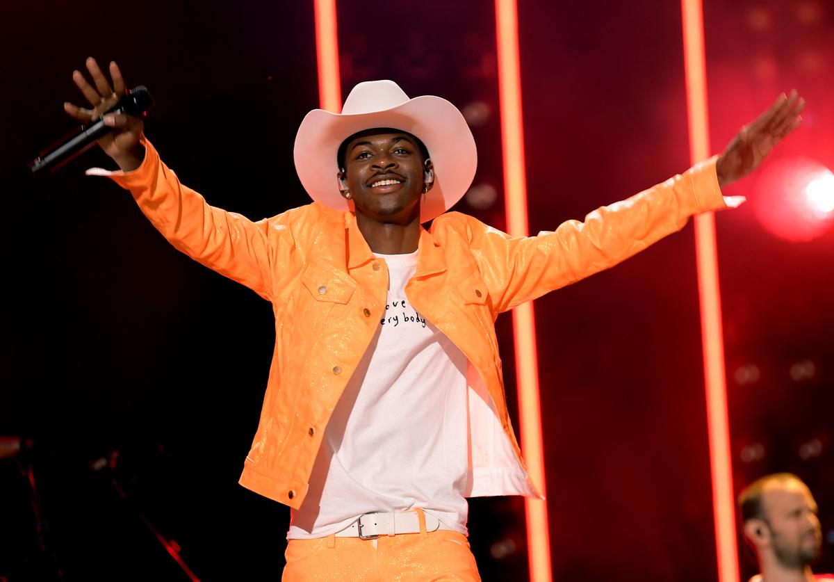 Lil Nas X performs onstage during day 3 of the 2019 CMA Music Festival on June 8, 2019 in Nashville, Tennessee.