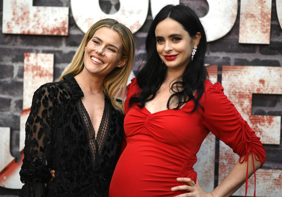 """Rachael Taylor, Krysten Ritter attend a Special Screening Of Netflix's """"Jessica Jones"""" Season 3 at ArcLight Hollywood on May 28, 2019 in Hollywood, California."""