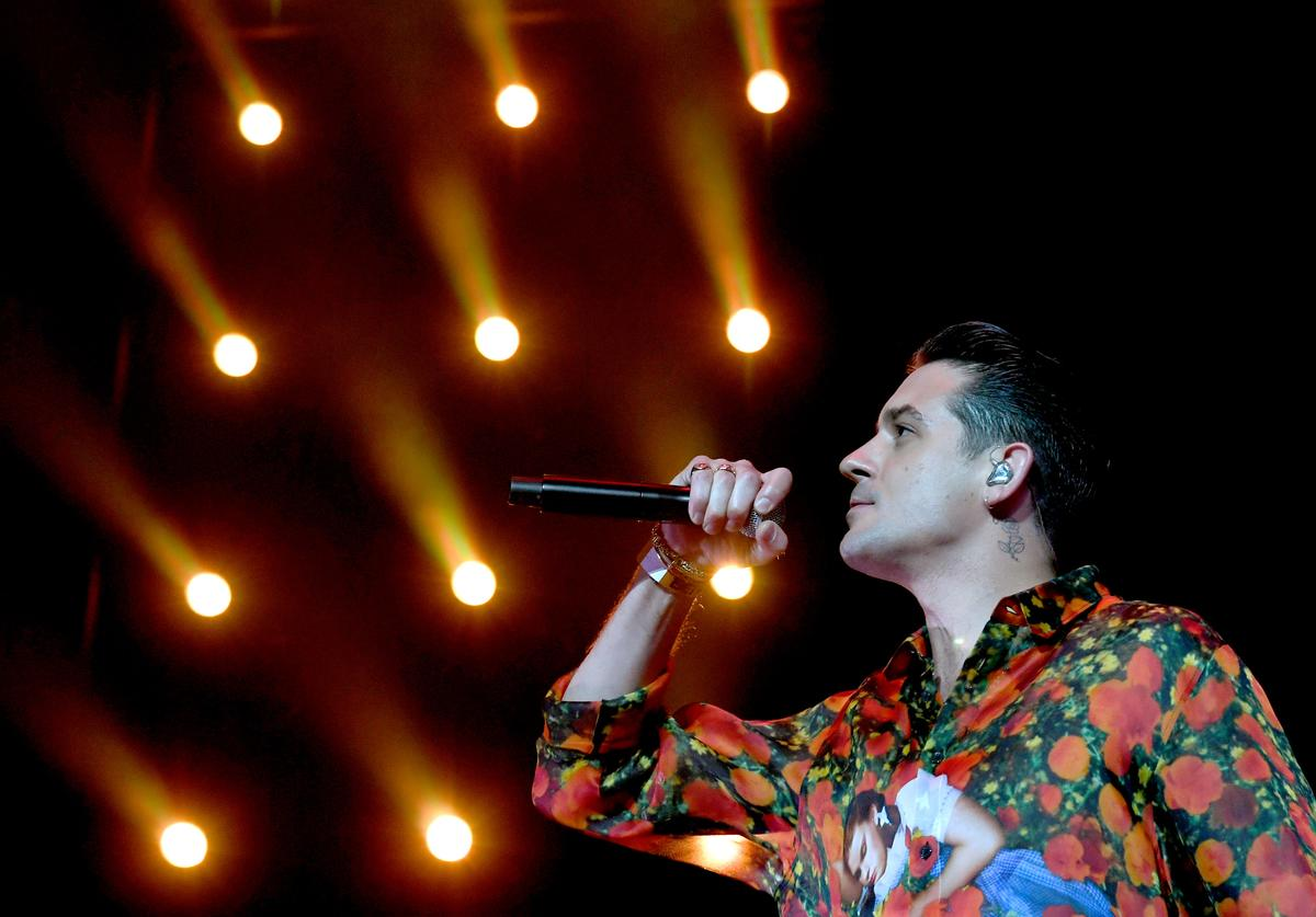 G-Eazy performs at the 7th Annual BET Experience at L.A. Live