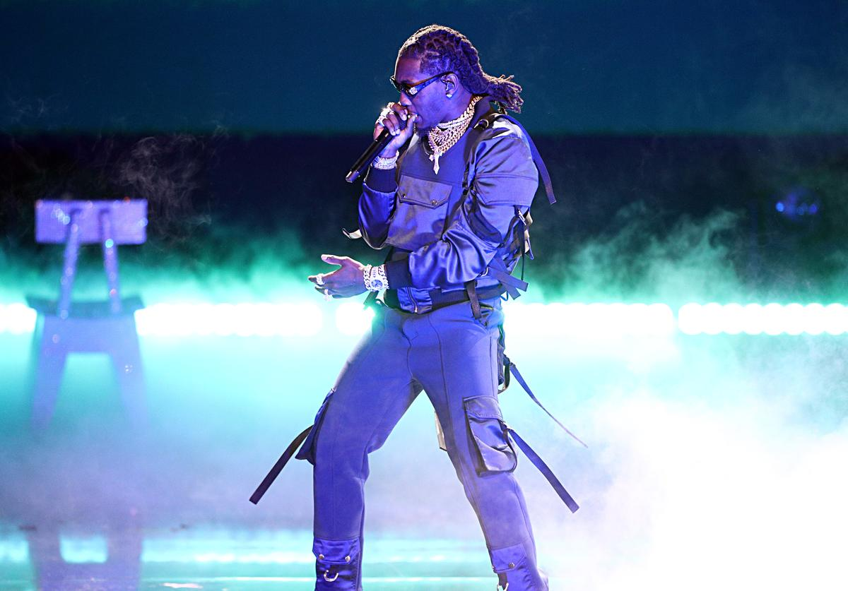 Offset of Migos performs onstage at the 2019 BET Awards