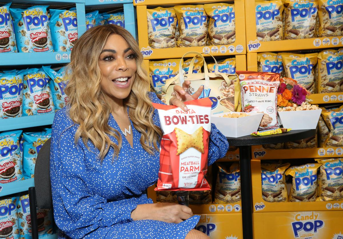 Wendy Williams At SNAXSationalBrands.com Booth At Sweets & Snacks Expo on May 22, 2019