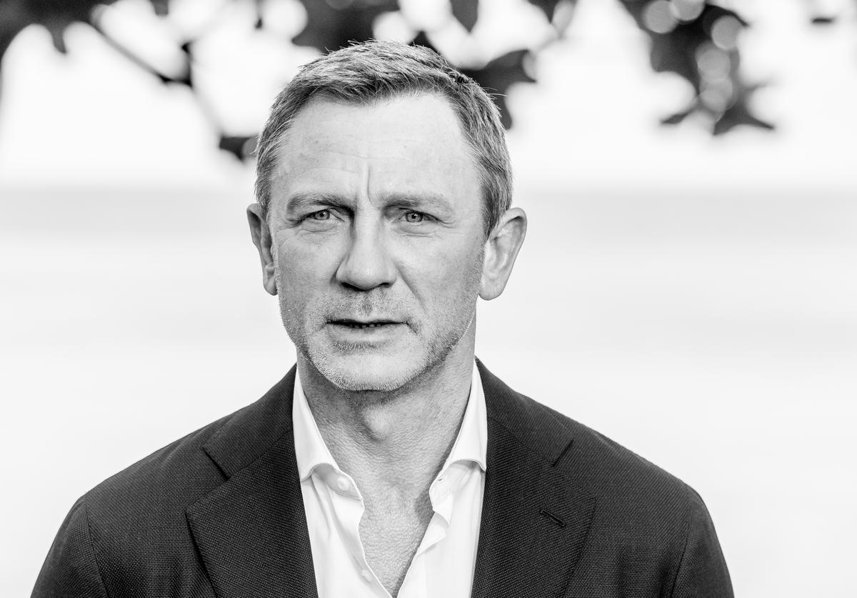 "Actor Daniel Craig attends the ""Bond 25"" Film Launch at Ian Fleming's Home"