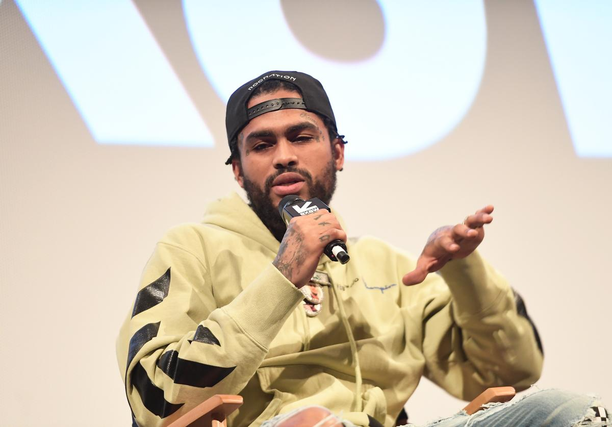 """Dave East attends the """"Rapture"""" Premiere 2018 SXSW Conference and Festivals at Paramount Theatre on March 17, 2018 in Austin, Texas."""