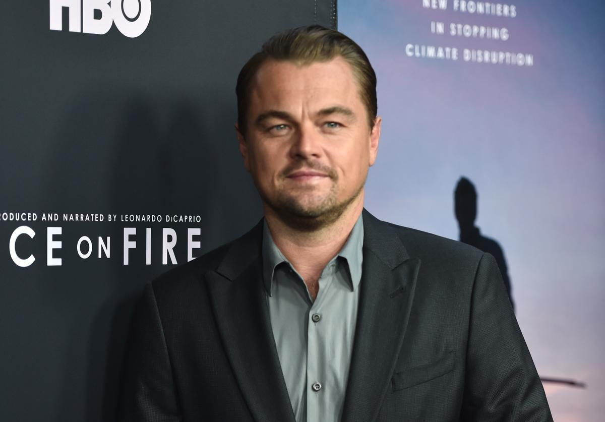 "Leonardo DiCaprio attends the L.A. premiere of HBO's ""Ice On Fire"" at LACMA on June 05, 2019 in Los Angeles, California"