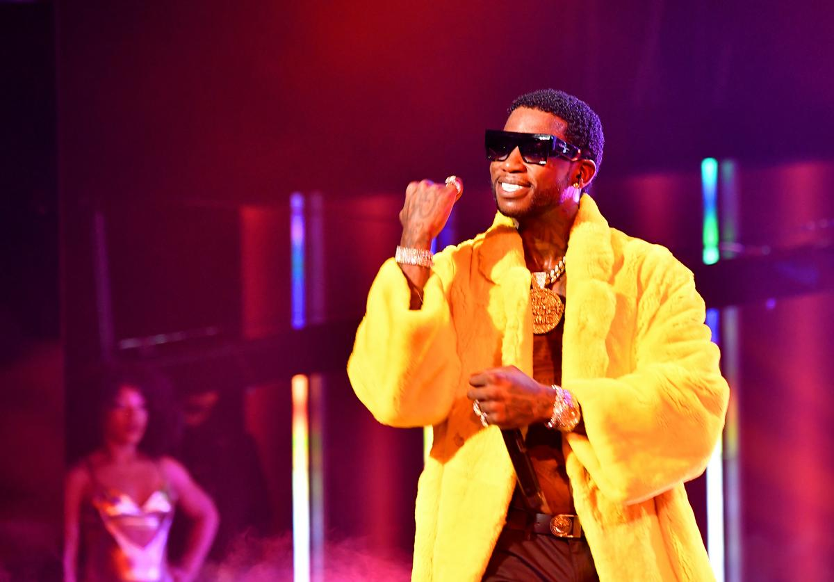 Gucci Mane performs onstage during the BET Hip Hop Awards 2018 at Fillmore Miami Beach on October 6, 2018