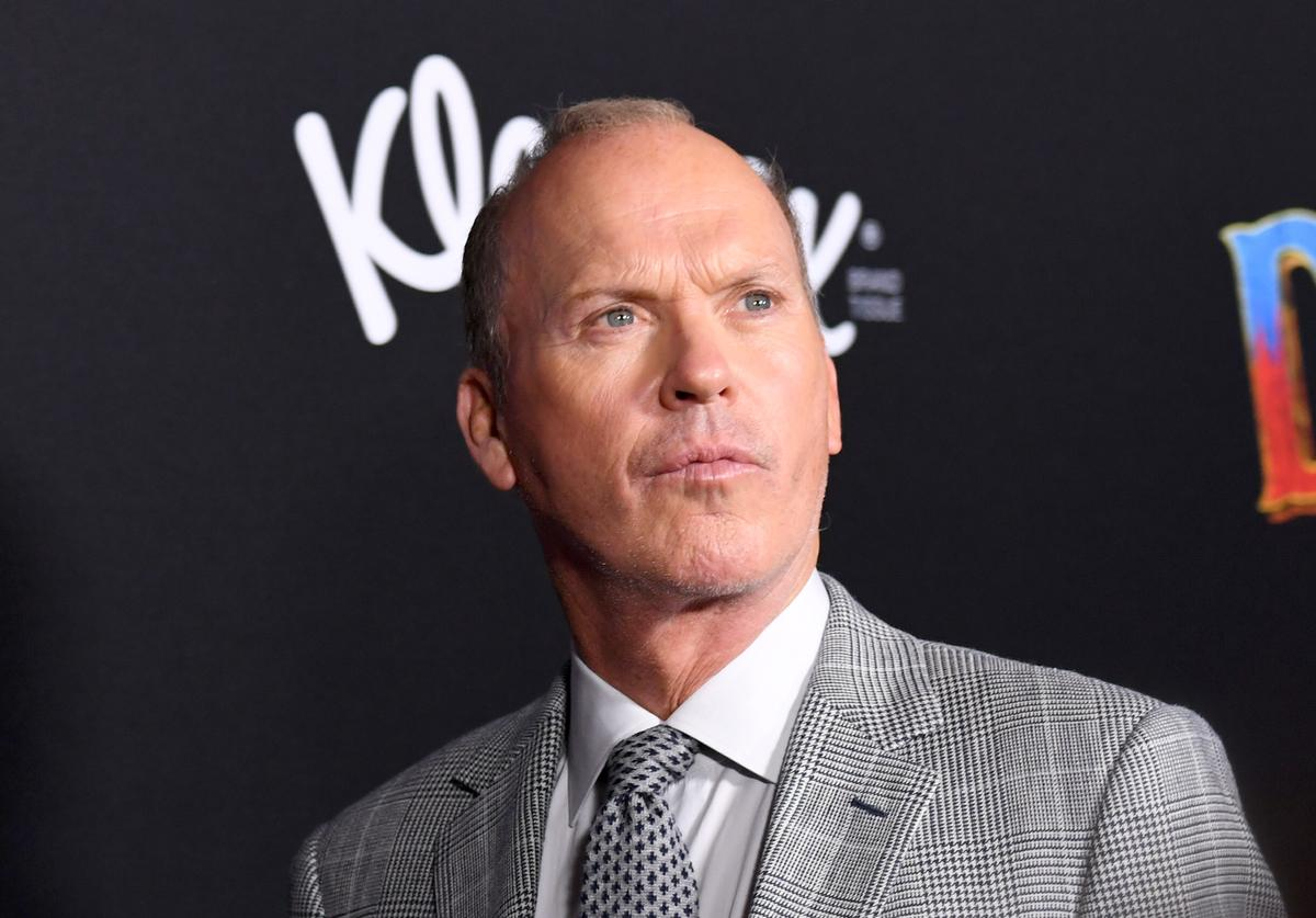 "Michael Keaton attends the premiere of Disney's ""Dumbo"" at El Capitan Theatre on March 11, 2019 in Los Angeles, California."
