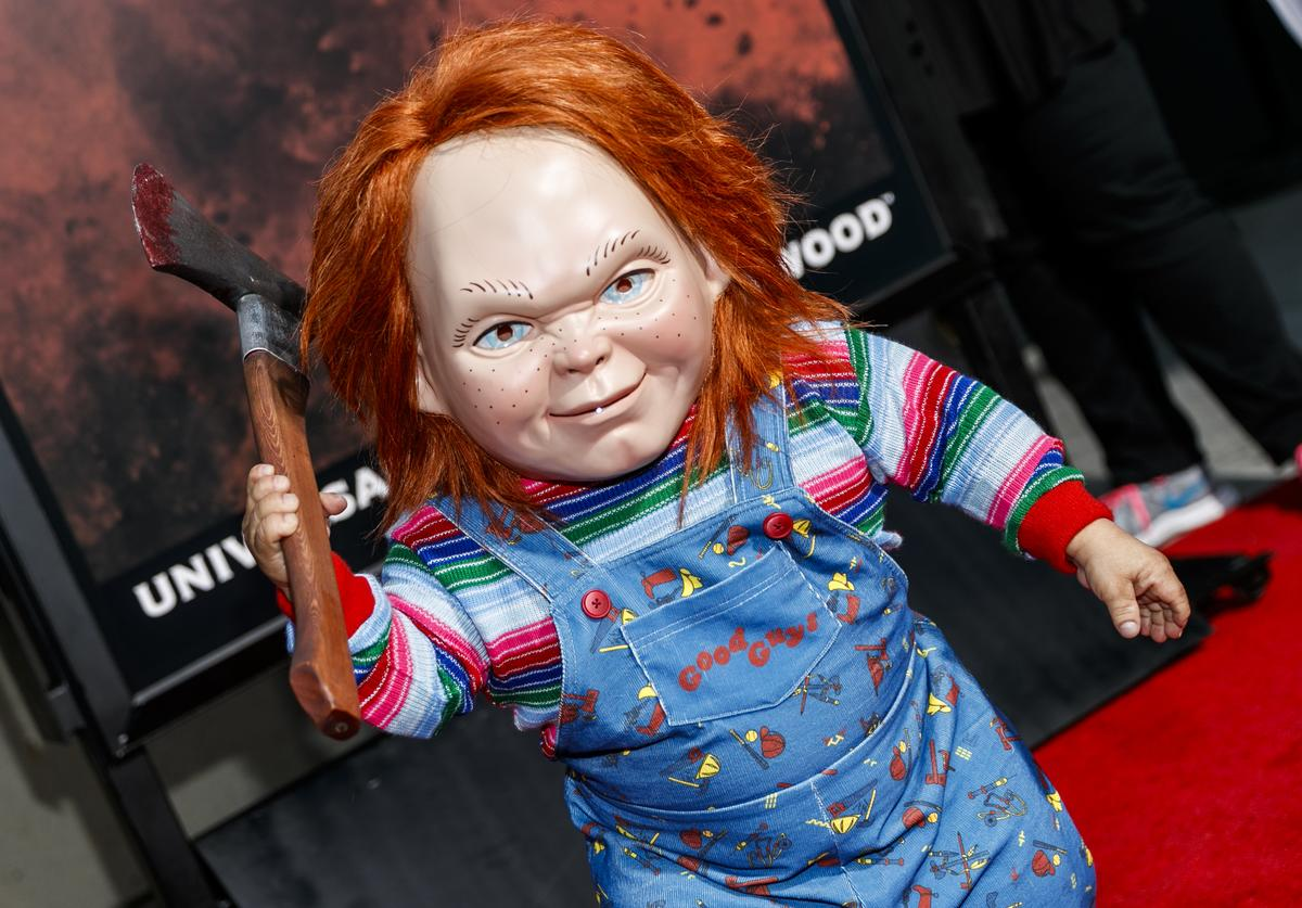 Chucky attends Halloween Horror Nights Opening Night at Universal Studios Hollywood on September 15, 2017 in Universal City, California