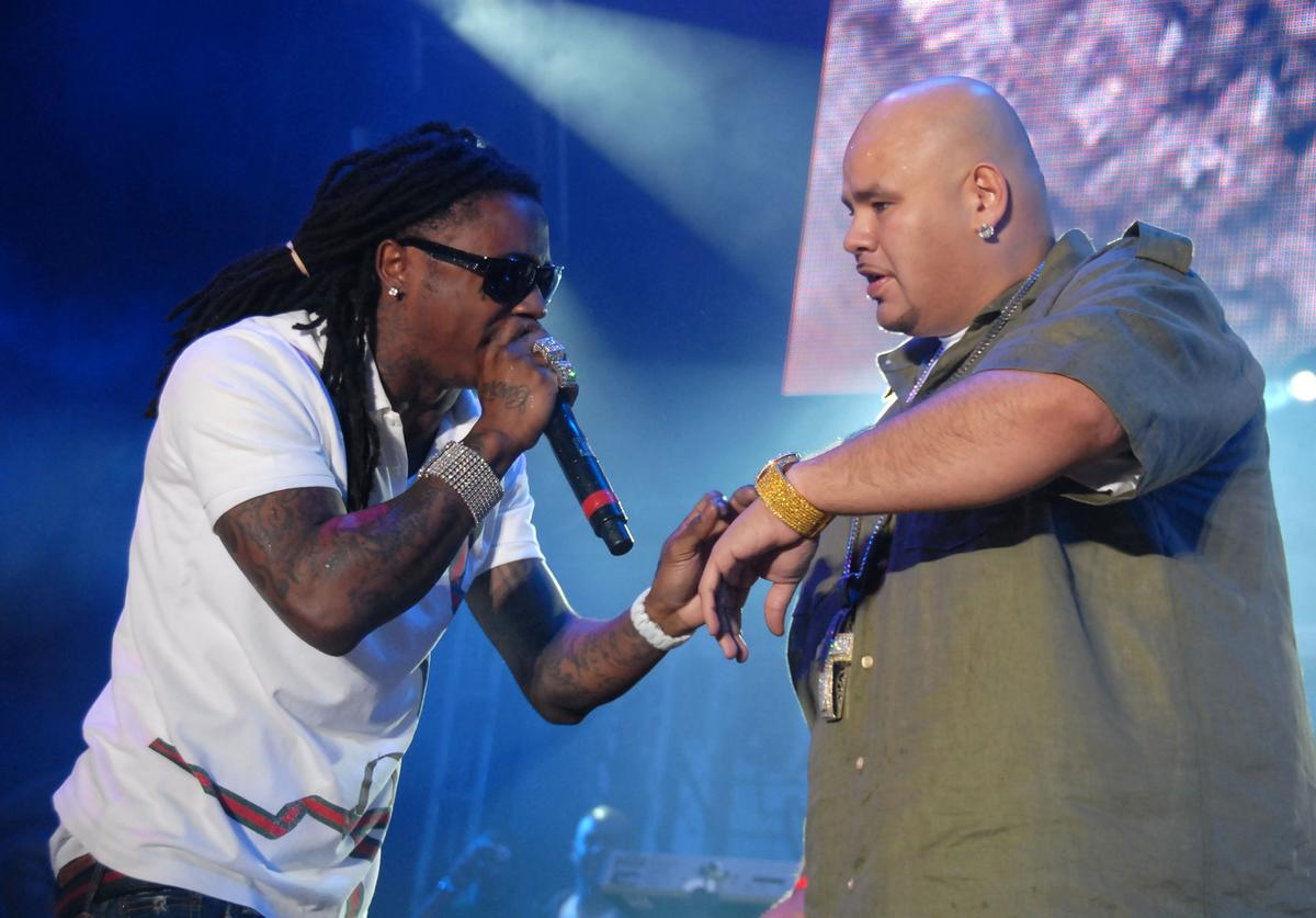 Lil' Wayne and Fat Joe