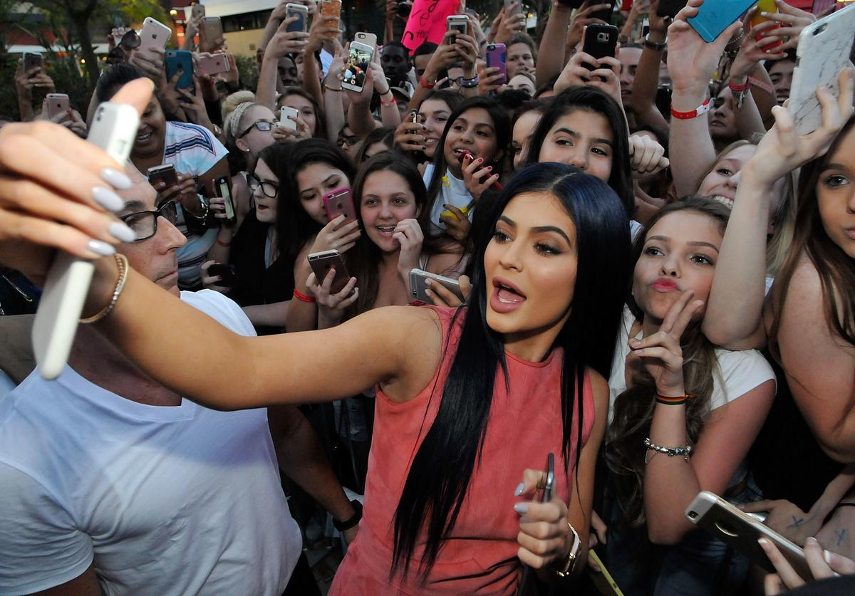 Kylie Jenner hosts Sugar Factory Orlando Grand Opening on March 11, 2016 in Orlando, Florida