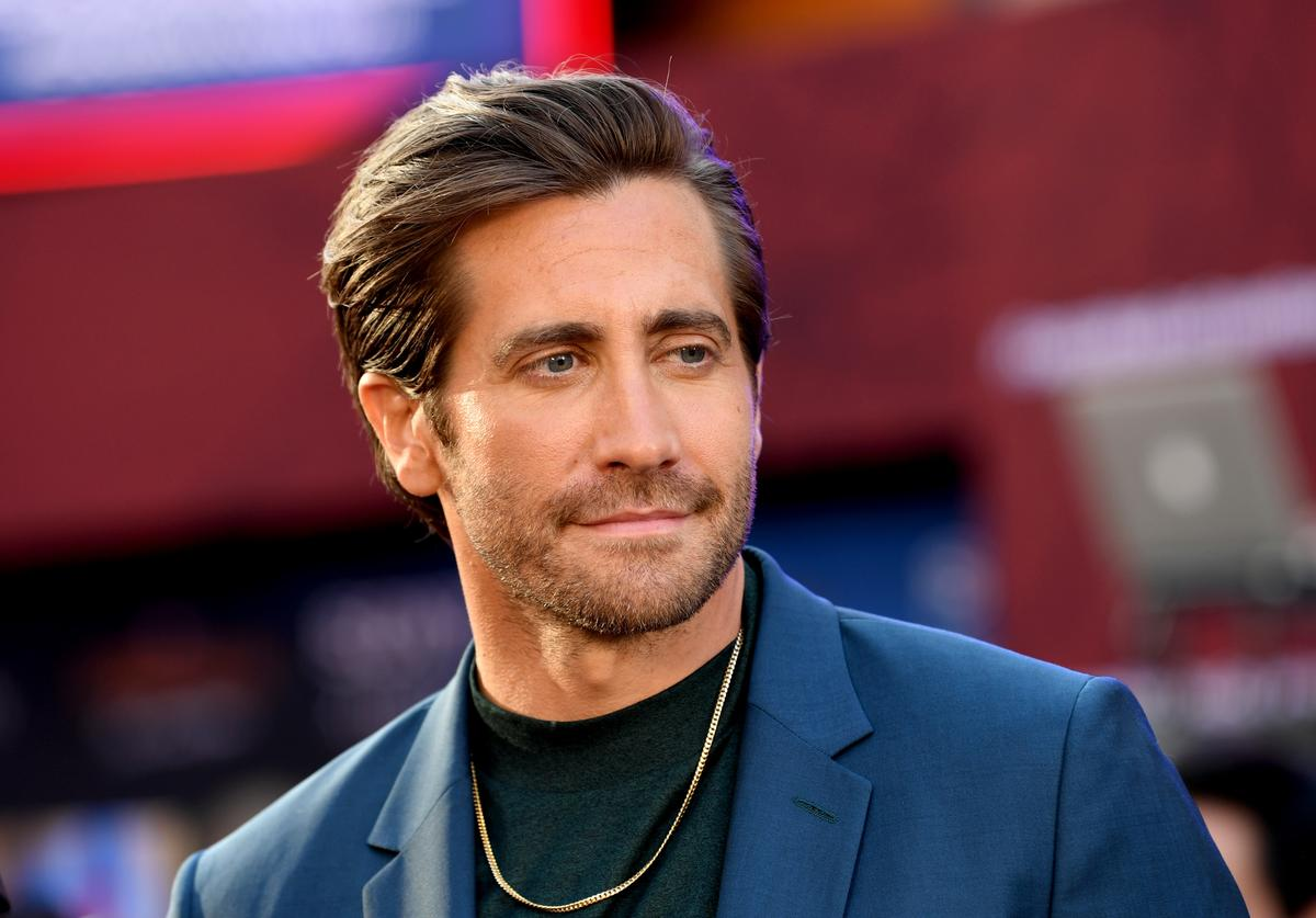 """Jake Gyllenhaal arrives at the premiere of Sony Pictures' """"Spider-Man: Far From Home"""""""