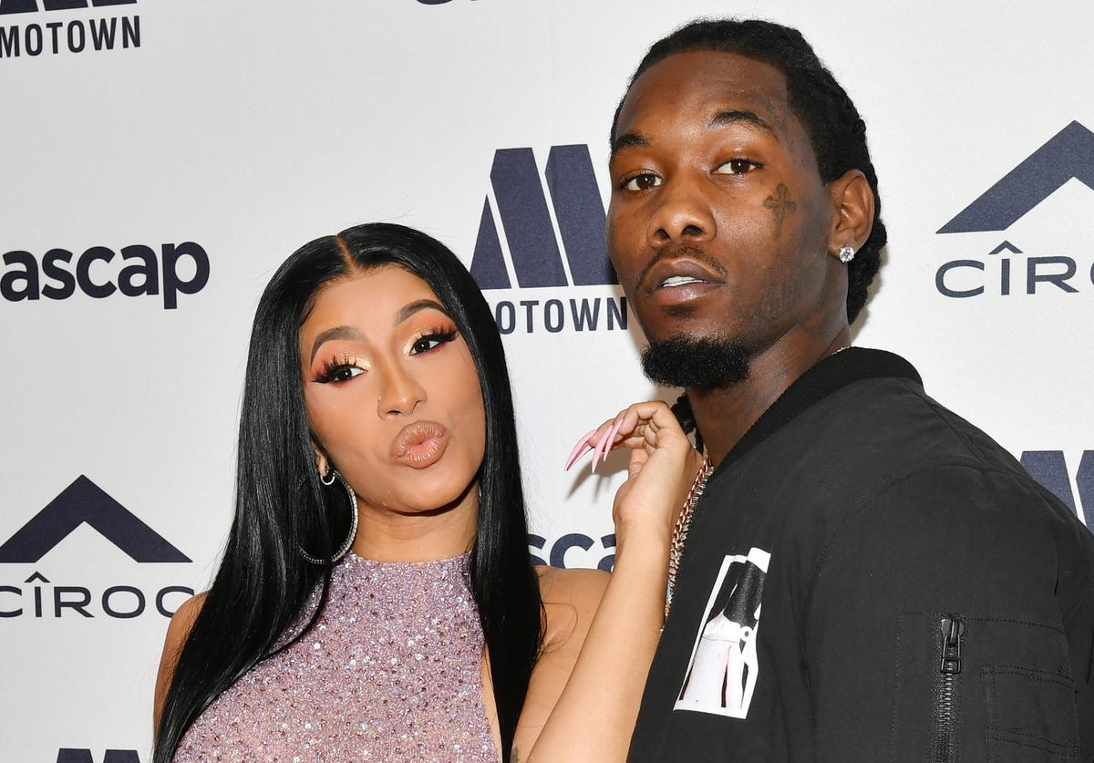 Cardi B and Offset attend 2019 ASCAP Rhythm & Soul Music Awards at the Beverly Wilshire Four Seasons