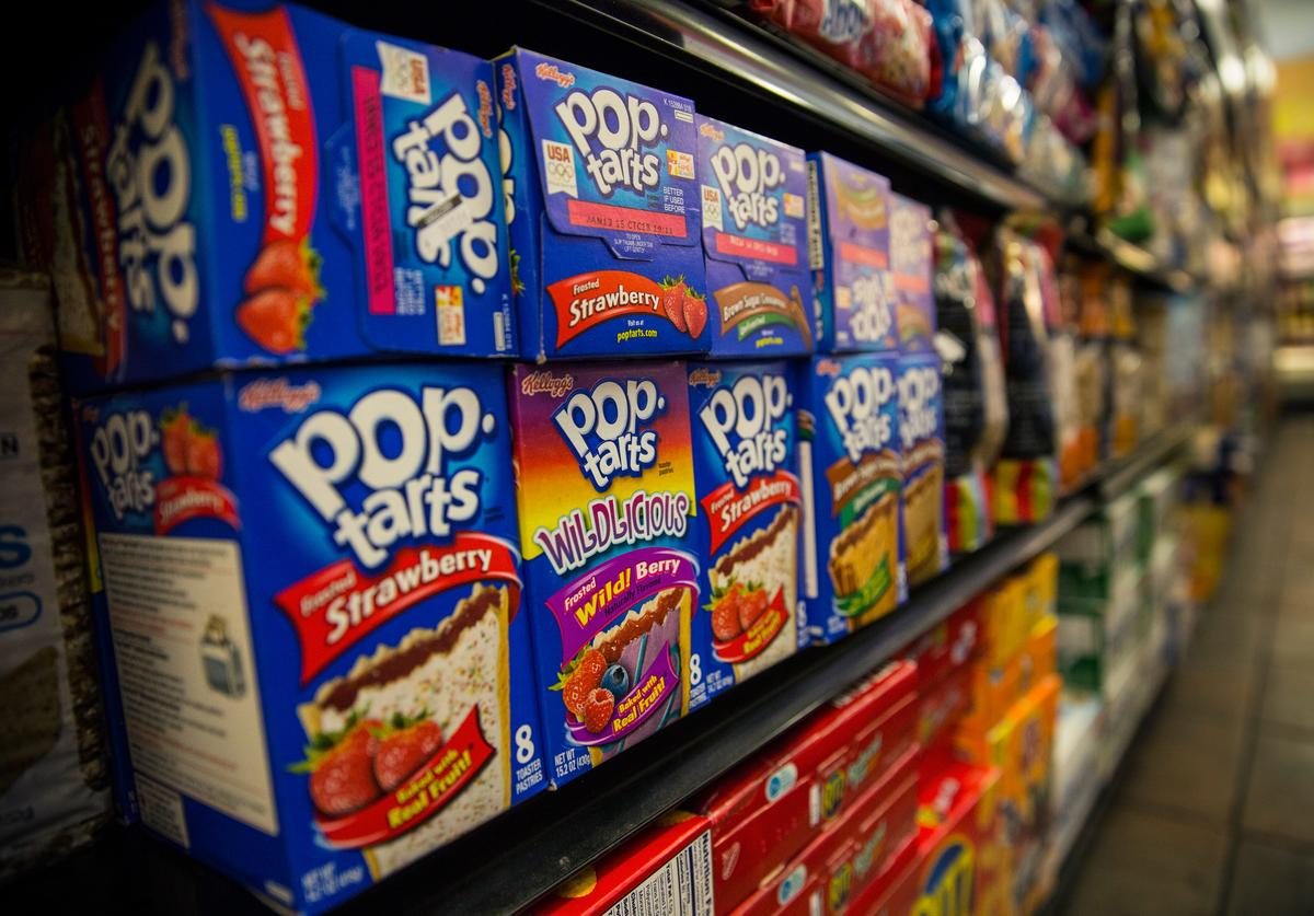 Boxes of Pop-Tarts sit for sale at the Metropolitan Citymarket on February 19, 2014 in the East Village neighborhood of New York City.