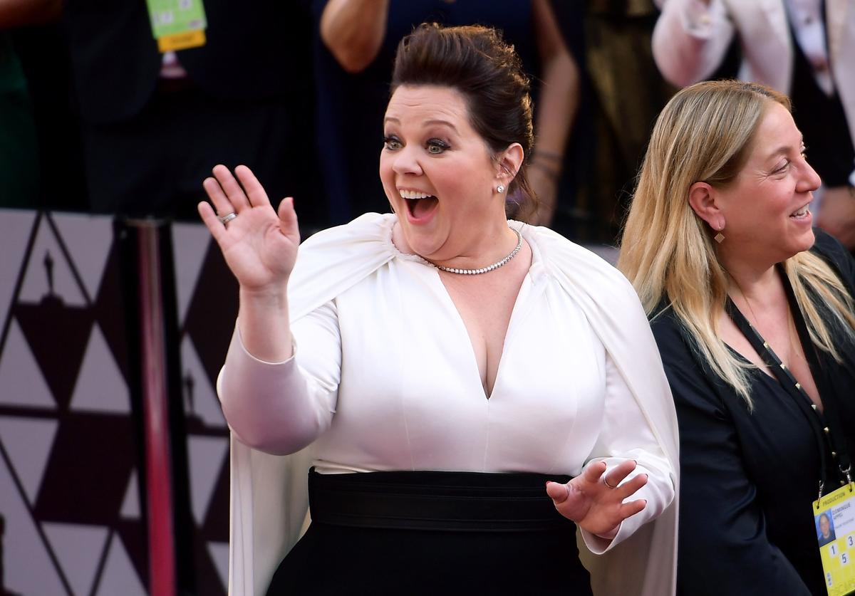Melissa McCarthy attends the 91st Annual Academy Awards at Hollywood and Highland