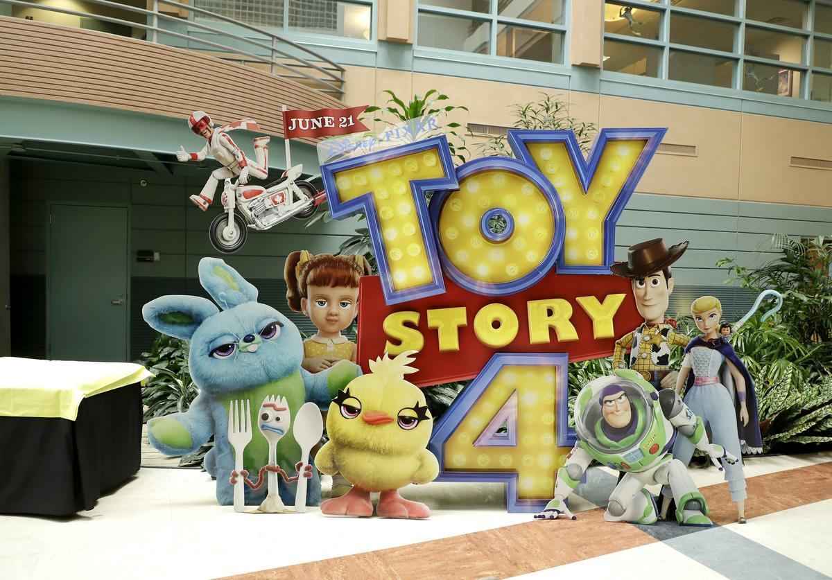 Environment as seen at the Global Press Junket for Pixar's TOY STORY 4