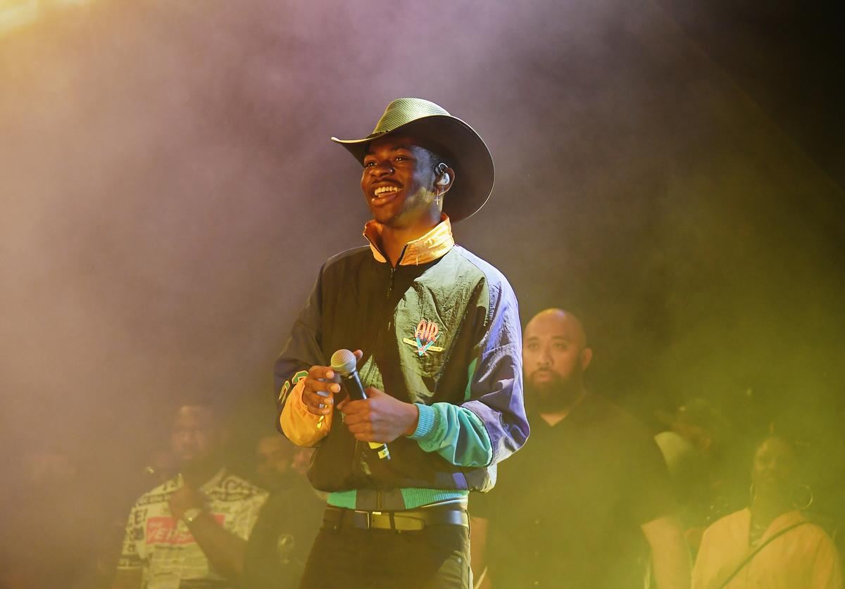 Lil Nas X performs at Summer Jam 2019