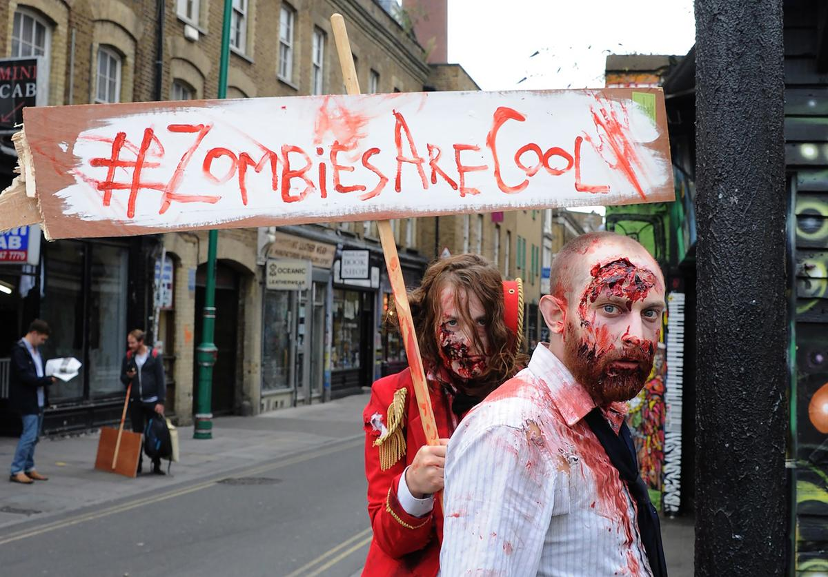 Backyard Cinema's Zombie Apocalypse Pop Up Screenings Let Loose In East London from the 31st of October