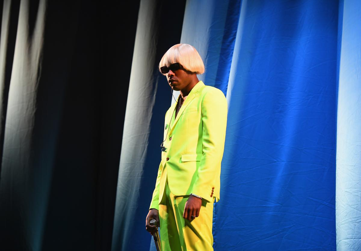 Tyler, the Creator performs at the 2019 Governors Ball Festival at Randall's Island on May 31, 2019 in New York City