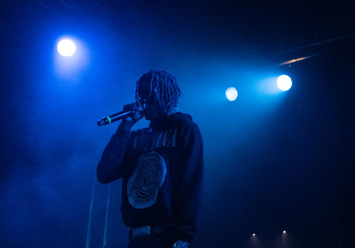 Yung Bans performs live on stage during the Northsbest Festival at the Showbox SoDo on April 27, 2019 in Seattle, Washington