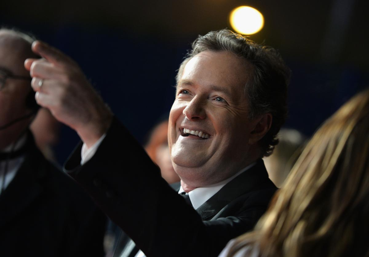 Piers Morgan attends the National Television Awards on January 25, 2017 in London, United Kingdom.