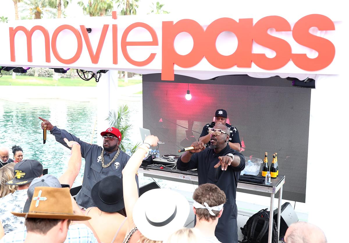 Big Boi performs at the MoviePass x iHeartRadio Festival Chateau at The Chateau at Lake La Quinta
