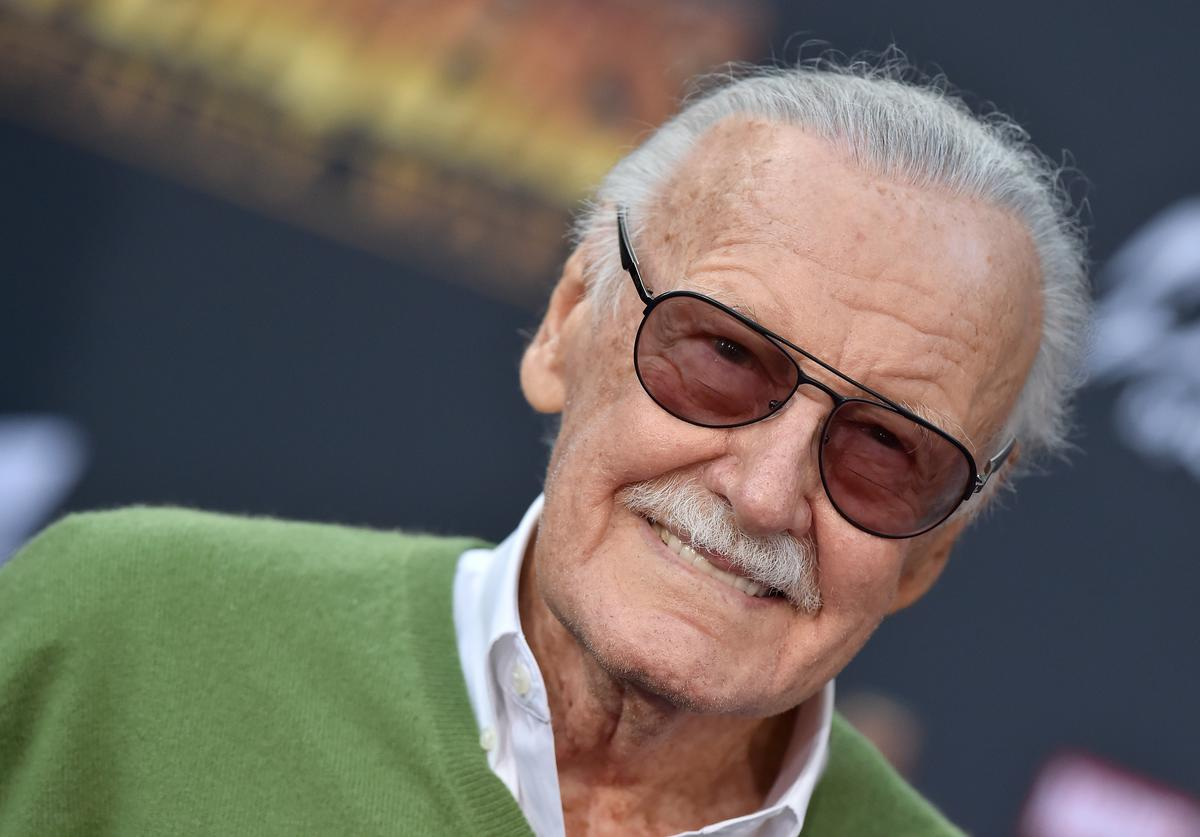Stan Lee attends the premiere of Disney and Marvel's 'Avengers: Infinity War' on April 23, 2018 in Hollywood, California.