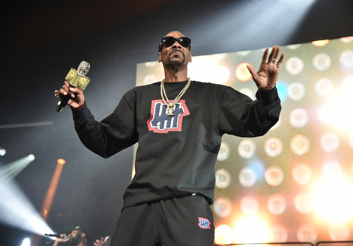 Snoop Dogg performs at Masters Of Ceremony 2019 at Barclays Center on June 28, 2019 in New York City. (