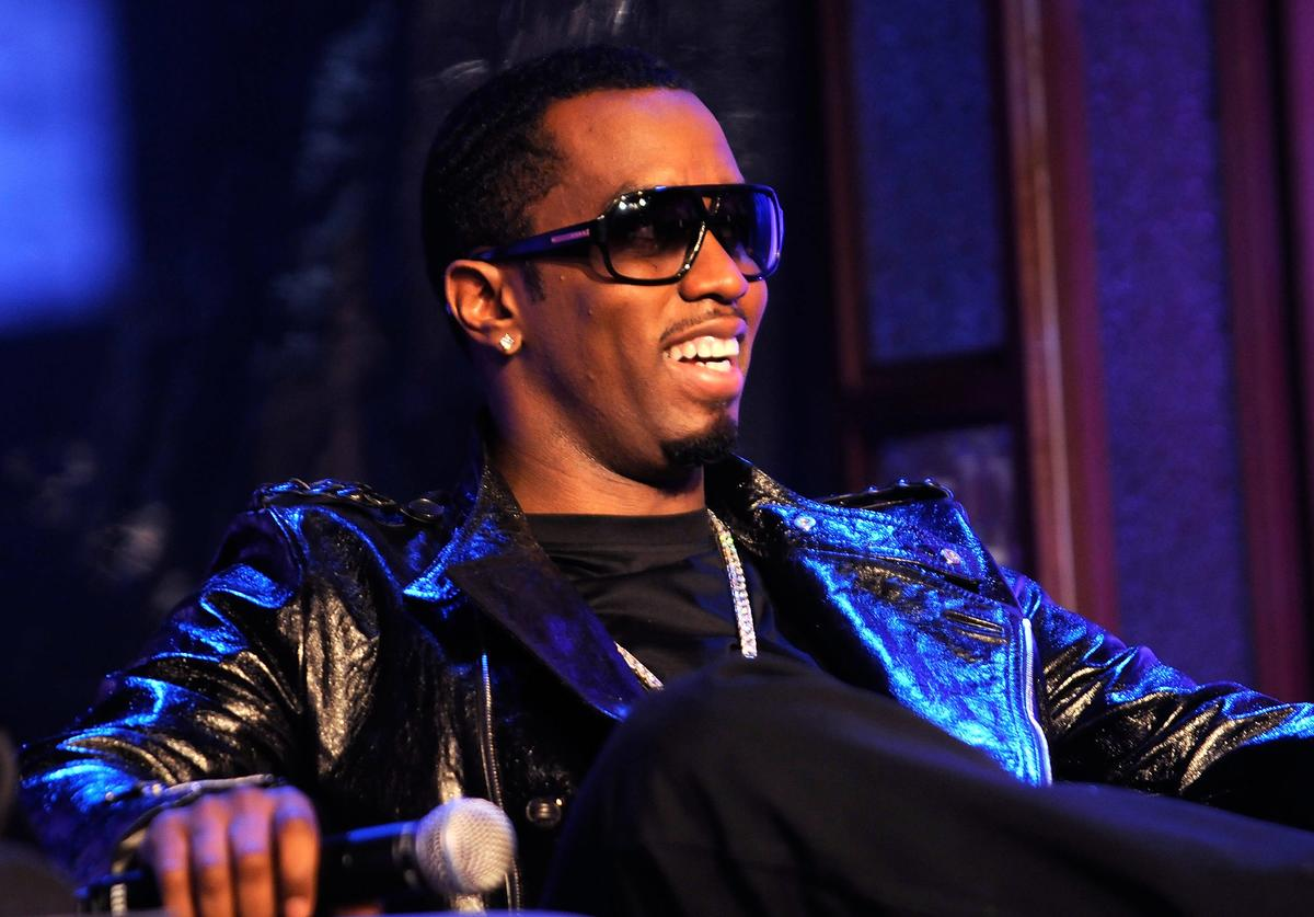 "Sean ""Diddy"" Combs on MTV's ""Making The Band 4"" season finale event at MTV Studios Times Square on March 22, 2008 in New York City"