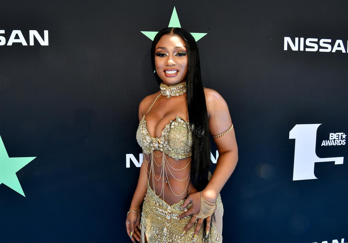 Megan Thee Stallion attends the 2019 BET Awards at Microsoft Theater on June 23, 2019 in Los Angeles, California