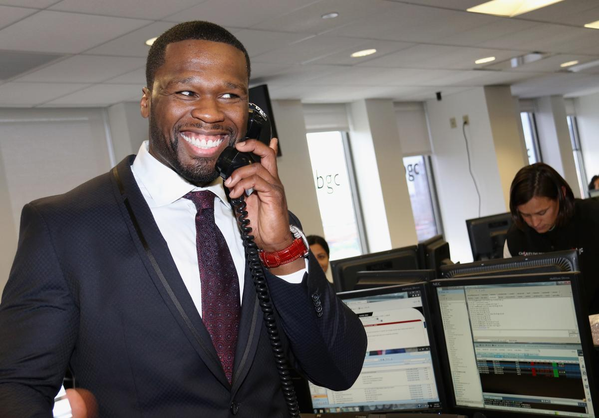 """Curtis """"50 Cent"""" Jackson attends Annual Charity Day hosted by Cantor Fitzgerald and BGC at BGC Partners, INC on September 11, 2015 in New York City"""