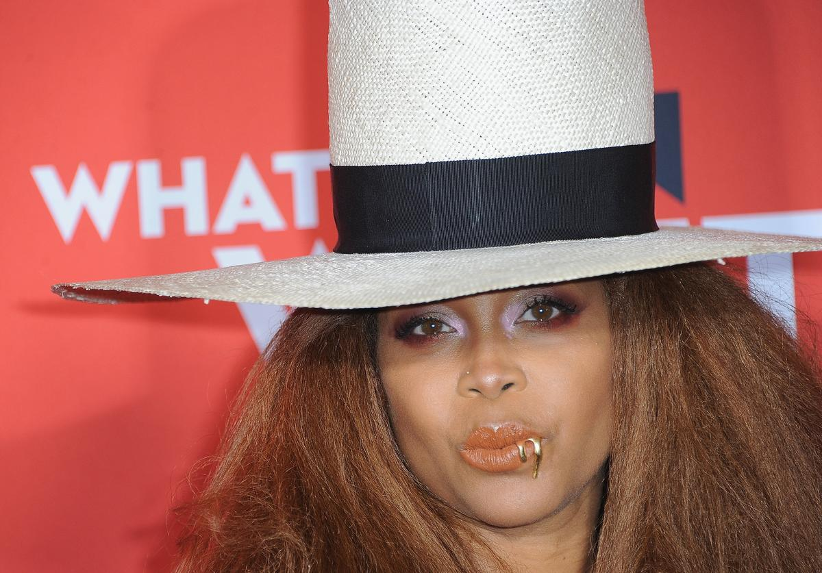 "Erykah Badu arrives for Paramount Pictures' ""What Men Want"" Premiere held at Regency Village Theatre on January 28, 2019 in Westwood, California."