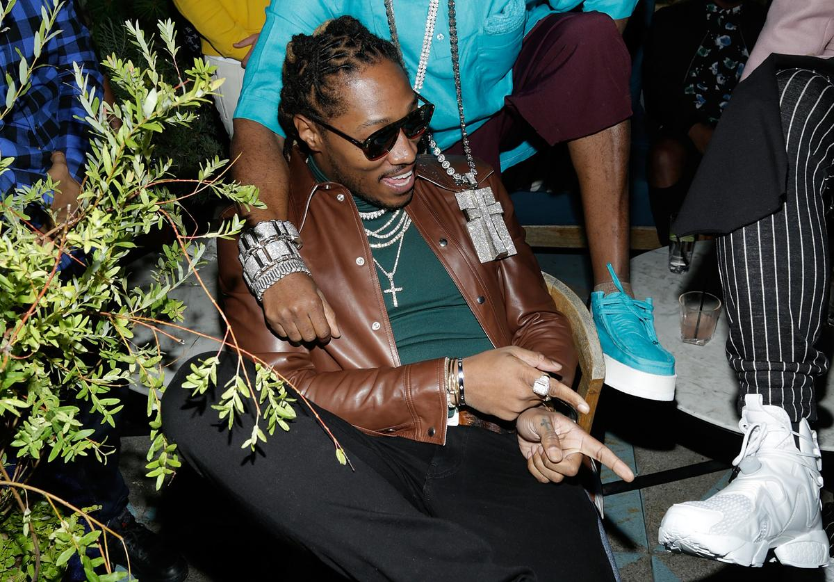 """Future attends the Flaunt and Reebok """"The Eternal Issue"""" celebration hosted by Future at Sixty Hotel Soho on September 8, 2017 in New York City"""