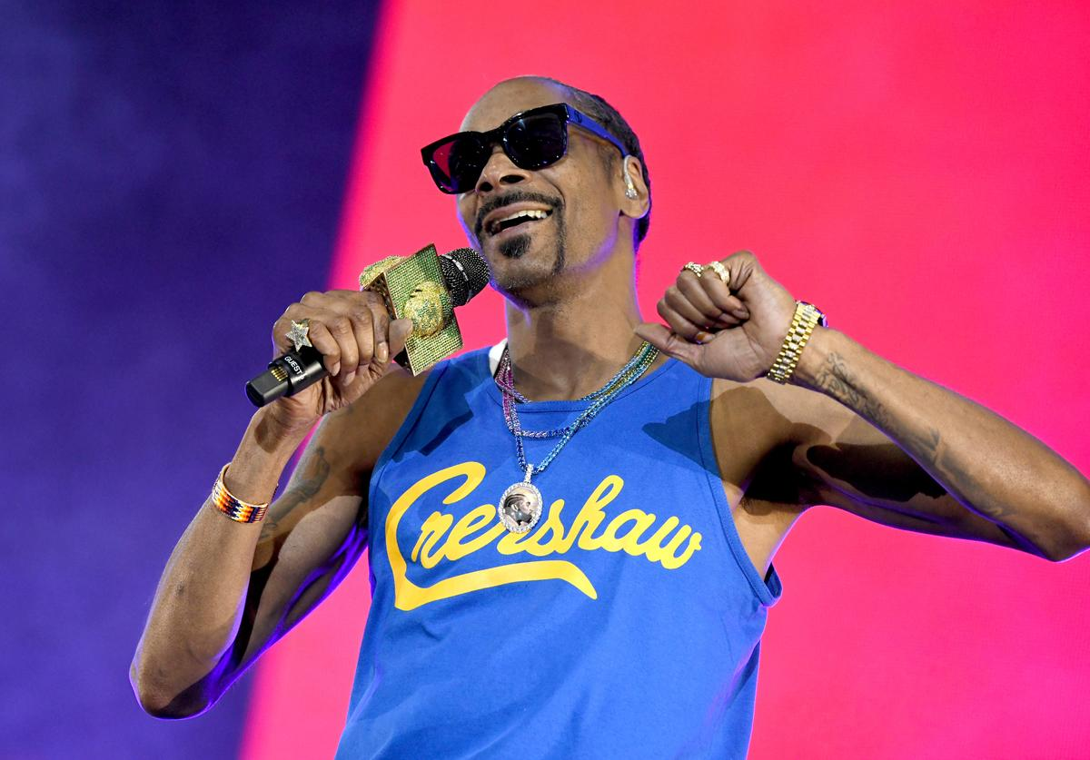 Snoop Dogg performs onstage at SOMETHING IN THE WATER - Day 2 on April 27, 2019 in Virginia Beach City