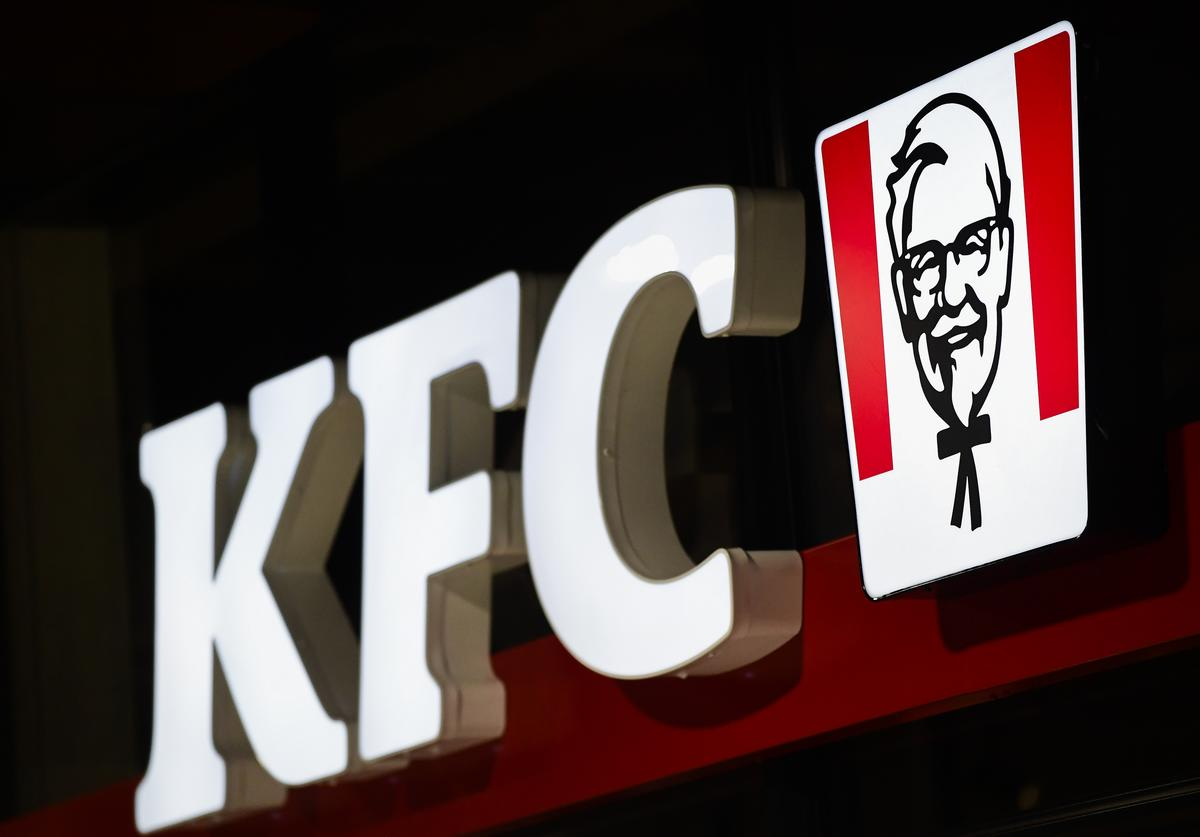 Illustration picture shows the opening day of the first Kentucky Fried Chicken (KFC) fastfood restaurant in Belgium, Wednesday 05 June 2019 in Brussels.